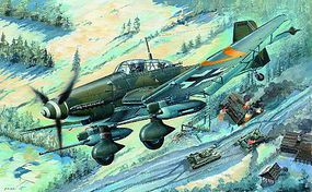 Trumpeter Junkers Ju-87G-2 Stuka German Dive Bomber Plastic Model Airplane Kit 1/32 Scale #3218