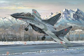 Trumpeter Mig29UB Fulcrum Russian Fighter Plastic Model Airplane Kit 1/32 Scale #3226