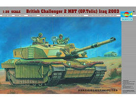 Trumpeter British Challenger II Main Battle Tank Plastic Model Military Kit 1/35 Scale #323