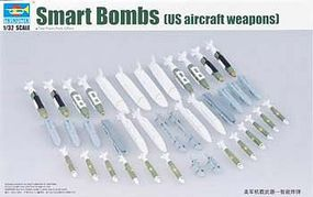 Trumpeter US Aircraft Weapons Set Smart Bombs Plastic Model Military Diorama 1/32 Scale #3305