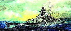 Trumpeter German Bismarck Battleship 1941 Plastic Model Military Ship Kit 1/200 Scale #3702