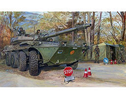 Trumpeter Italian B1 Centauro Tank Destroyer Plastic Model Military Kit 1/35 Scale #387
