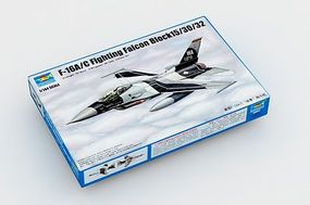 Trumpeter F-16A/C Fighting Falcon Block 15/30/32 Aircraft Plastic Model Airplane Kit 1/144 #3911