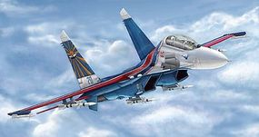 Trumpeter SU-27UB Flanker C Russian Fighter Plastic Model Airplane Kit 1/144 Scale #3916