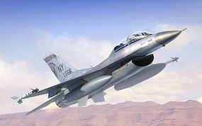 Trumpeter F-16B/D Fighting Falcon Block 15/30/32 Plastic Model Airplane Kit 1/144 Scale #3920