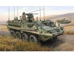 Trumpeter M1130 Stryker Command Vehicle Plastic Model Military Kit 1/35 Scale #397