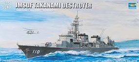 Trumpeter Japanese Takanami DD100 Destroyer Plastic Model Military Ship 1/350 Scale #4539