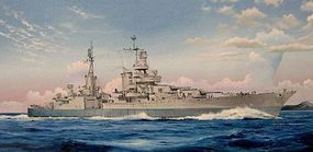Trumpeter USS Indianapolis CA-35 Cruiser 1945 Plastic Model Military Ship 1/350 Scale #5326