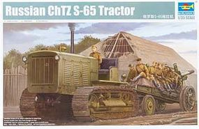 Trumpeter Russian ChTZ S-65 Tractor Plastic Model Military Vehicle 1/35 Scale #5538