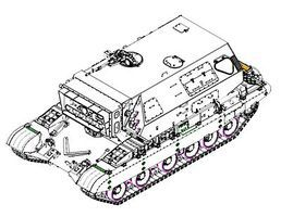 Trumpeter Soviet 1K17 Szhatie Laser Tank Plastic Model Military Vehicle Kit 1/35 Scale #5542