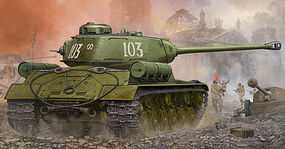 Trumpeter Soviet JS-2 (IS-2) Heavy Tank Plastic Model Military Vehicle Kit 1/35 Scale #5588