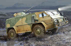 Trumpeter Russian GAZ39371 Military Vehicle Plastic Model Military Vehicle 1/35 Scale #5594