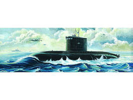 Trumpeter Soviet Kilo Class Type 636 Attack Submarine Plastic Model Military Ship 1/144 Scale #5903