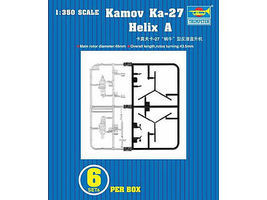 Trumpeter Kamov KA27 Helix A Plastic Model Aircraft Accessory 1/350 Scale #6213