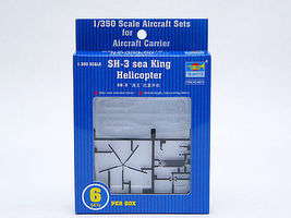 Trumpeter SH-3H Seaking Plastic Model Aircraft Accessory 1/350 Scale #6214