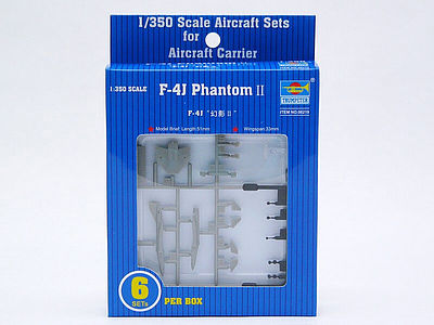 Trumpeter F-4J Phantom II -- Plastic Model Aircraft Accessory -- 1/350 Scale -- #6219