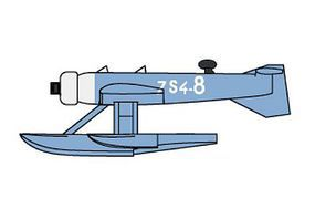 Trumpeter MB411 French Seaplane Plastic Model Airplane Kit 1/350 Scale #6264