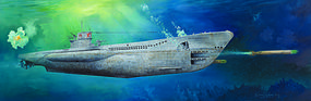 Trumpeter German DKM VIIC U-552 U-Boat Plastic Model Military Ship Kit 1/48 Scale #6801