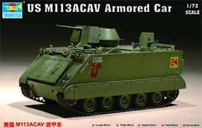 Trumpeter US M113 Armored Cavalry Assault Vehicle Plastic Model Military Vehicle 1/72 Scale #7237