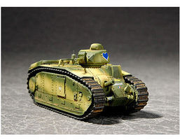 Trumpeter French Char B1 Tank Plastic Model Military Vehicle 1/72 Scale #7263