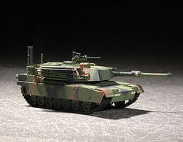 Trumpeter US M1A1 Abrams MBT Plastic Model Military Vehicle 1/72 Scale #7276