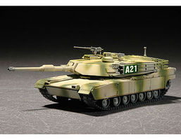 Trumpeter M1A2 Abrams Main Battle Tank Plastic Model Military Vehicle 1/72 Scale #7279