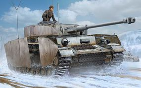 Trumpeter German Pz.Beob.Wg.IV Aust.J Medium Tank Plastic Model Military Vehicle 1/16 Scale #922