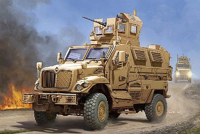 Trumpeter US M-ATV MRAP MaxxPro Vehicle -- Plastic Model Military Vehicle -- 1/16 Scale -- #931
