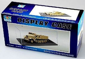 Trumpeter Showcase for 1/43, Small 1/35 & Large 1/72 Military Plastic Model Display Case #9815