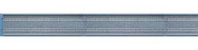 Tomy Straight Double Track DS1120 2-Pack (44-1/8 1120mm) N Scale Model Railroad Track #1069