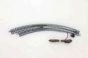 Tomy Remote Curved Turnout (Points) CPL317/280-45 Left Hand N Scale Model Railroad Track #1279