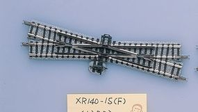 Tomy 15 Degree Crossing XR140-15 Fine Track Right Hand N Scale Model Railroad Track #1322