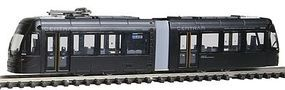 Tomy Black Centram Streetcar (UnPowered) N Scale Trolley and Hand Car #225782