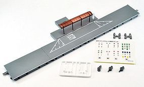 Tomy Operating Bus System Right Lane Stop Set Kit N Scale Model Railroad Road Accessory #232117