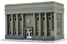 Tomy Community Bank & Trust Kit N Scale Model Railroad Building #257899