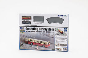 Tomy North American Operating Bus System Starter Set (GMC) N Scale Model Railroad #257998