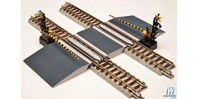 Crossing Gates N Scale Model Railroad Operating Accessories