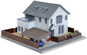 Tomy Forest Avenue House Kit N Scale Model Railroad Building #265726