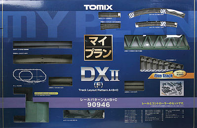 TomyTec Co DX II Over-Under w/Siding Track Set -- N Scale Model Railroad -- #90946