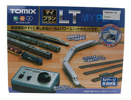 Tomy LT II Oval Track Set N Scale Model Railroad #90947