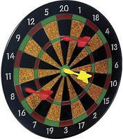 Toysmith Magnetic Dart Set Board (11.5) with 6 Darts Novelty Toy #3121