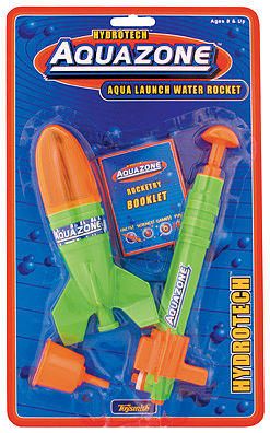Toysmith Aqua Launch Water Rocket 5-1/2'' -- Water Toy -- #4065