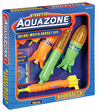 Toysmith Deluxe Water Rocket 6pc Set -- Water Toy -- #4066
