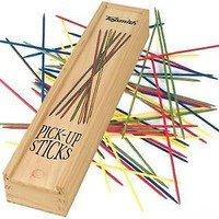 Toysmith Pick-Up Sticks Game in Wooden Case