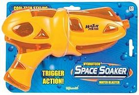Toysmith Space Soaker 10 Trigger Water Gun Display (12 Total) Water Toy #8235