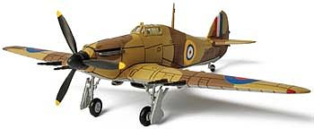 Unimax HURRICANE EGYPT 1940 -- Pre-Built Plastic Model Airplane -- 1/72 scale -- #85060