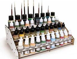 Vallejo Front Module Paint Stand (Holds 60 Paint Bottles & Brushes)