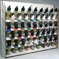 Vallejo Wall Mounted Module Paint Display (Holds 43 Bottles)