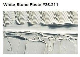 Vallejo White Paste Stone Effect (200ml Bottle) Model Railroad Mold Accessory #26211