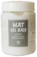 Vallejo Mat Gel Base Earth Effect (200ml Bottle) Model Railroad Mold Accessory #26216